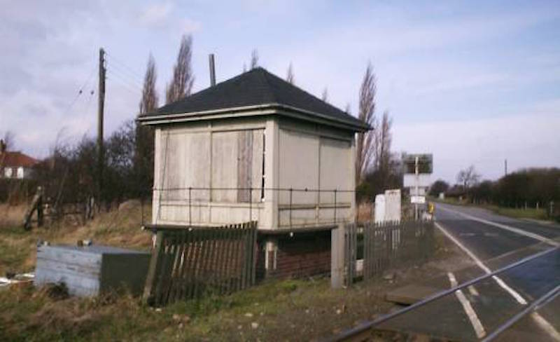 Another view of the box which remained in situ for use by temporary crossing attendants during manual working until February 2007