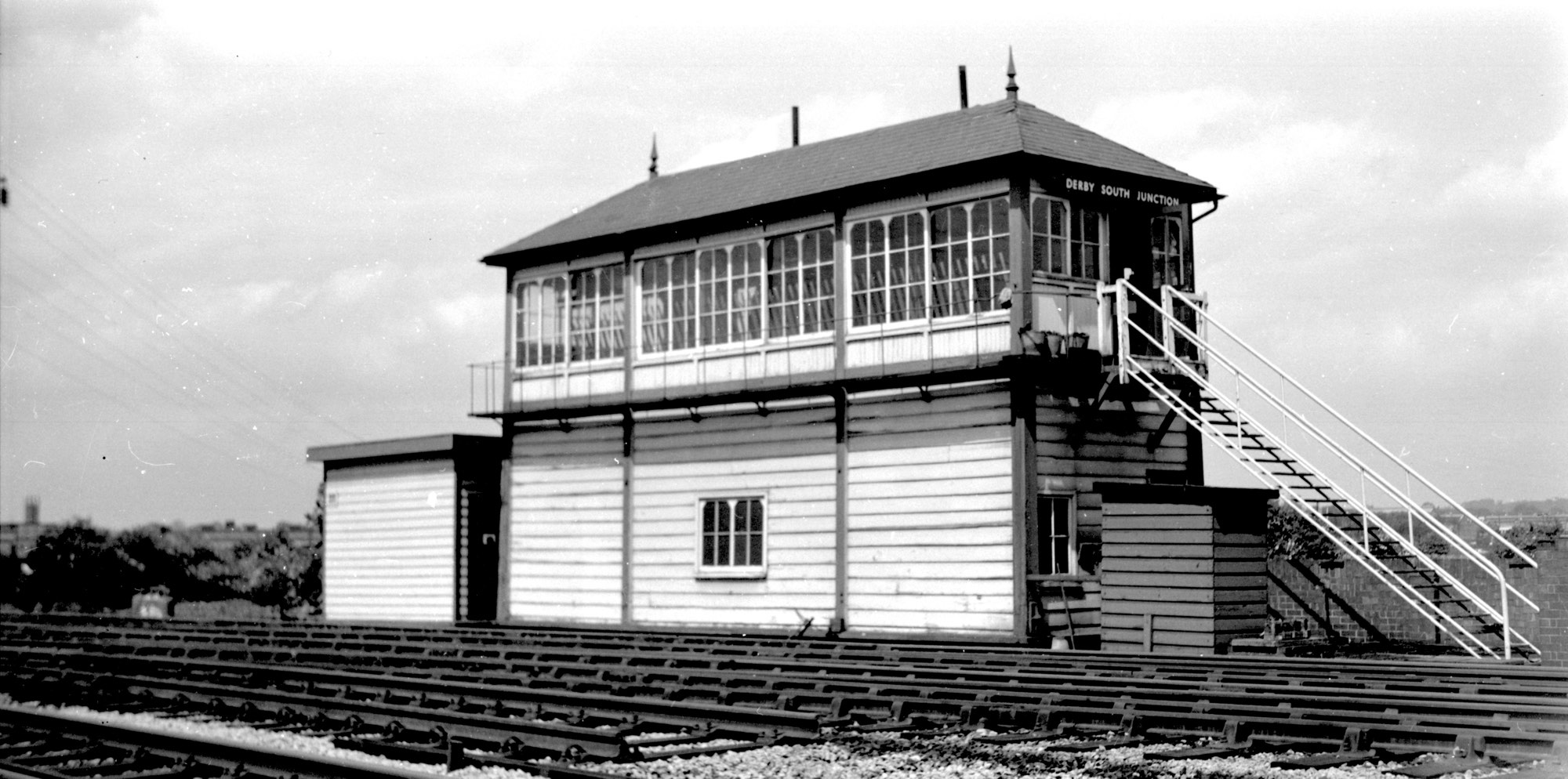 Derby South Junction signal box
