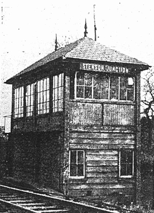 Stenson Junction box prior to the 1950's resignalling