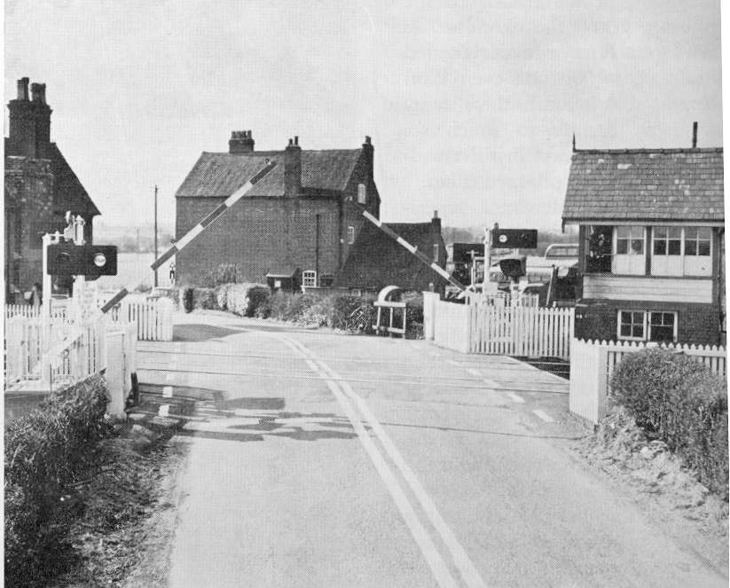 Spath Crossing in the Summer of 1961 whilst Attendance was still provided